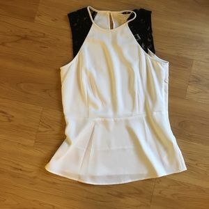 NWT Peplum top by Michael kors